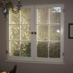 "Breakfast room ""After"" with 1930s casement sash reinstalled"